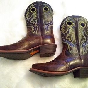 Ariat Shoes - Men's Ariat Leather Boots sz 10 EE